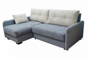 Диван синий угловой - Мебельная фабрика «Мебельный клуб»