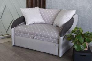 Диван Smart c контрастными подлокотниками - Мебельная фабрика «Клюква»