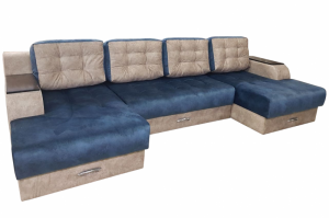 Диван Смайл 2 П-образный - Мебельная фабрика «Дивея»