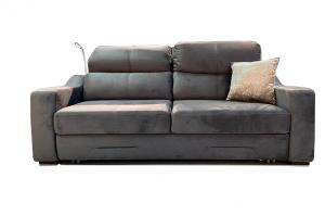 Диван Софт из микровелюра с электроприводом - Мебельная фабрика «33 дивана»