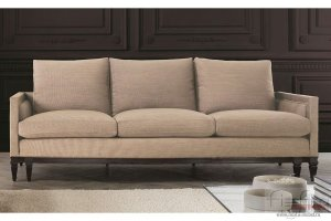 Диван светлый еврокнижка Валенсия 2 - Мебельная фабрика «Фиеста-мебель»