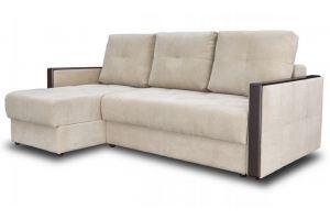 Диван светлый с декором - Мебельная фабрика «Мебельный клуб»