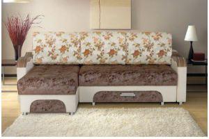 Диван Токио угловой с оттоманкой - Мебельная фабрика «Уютный Дом»