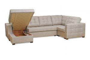 Диван Твист П-образный с оттоманкой - Мебельная фабрика «Вершина комфорта»