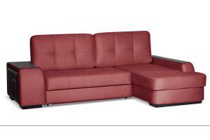 Диван угловой Брюссель Красный - Мебельная фабрика «Цвет диванов»