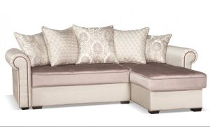 Диван угловой Гамбург NEXT серебро - Мебельная фабрика «Цвет диванов»