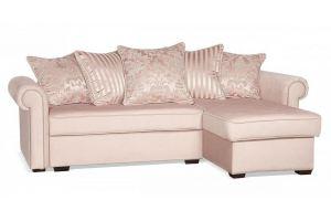 Диван угловой Гамбург NEXT Серо-розовый - Мебельная фабрика «Цвет диванов»
