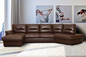 Диван угловой Канзас 89 МД  кожзам - Мебельная фабрика «АРТмебель»