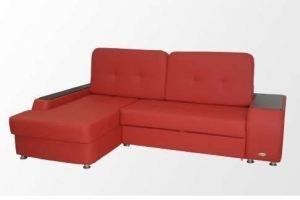 Диван угловой красный Бостон - Мебельная фабрика «Анаида»