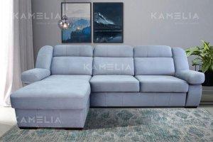 Диван угловой Манхэттен с оттоманкой - Мебельная фабрика «Камелия»