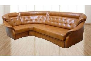 Диван угловой Марго коричневый - Мебельная фабрика «Сезам»