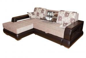 Диван Неаполь с оттоманкой и баром - Мебельная фабрика «FAVORIT COMPANY»