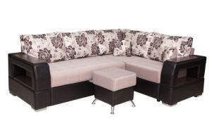 Диван Неаполь угловой со спинкой - Мебельная фабрика «FAVORIT COMPANY»