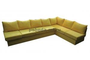 диван угловой нераскладной ЛОфт - Мебельная фабрика «Победа»