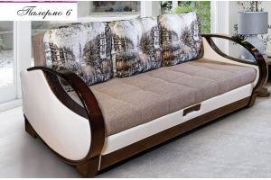 Диван прямой Палермо 6 - Мебельная фабрика «Любимая мебель»