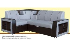 Диван угловой пружинный Винтаж - Мебельная фабрика «Suchkov-mebel»