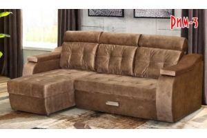 Диван угловой Рим-3 - Мебельная фабрика «Барокко»