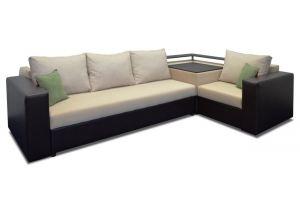 Диван угловой с баром Фаворит 4 - Мебельная фабрика «Идея комфорта»