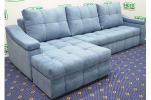 Диван угловой с оттоманкой Чарли - Мебельная фабрика «Идея комфорта»