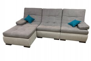 Диван угловой серый Престиж 12 - Мебельная фабрика «Данко»