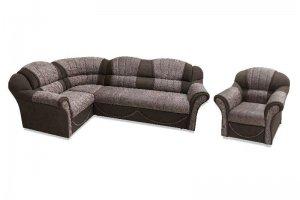 Диван угловой Соня-12 с креслом - Мебельная фабрика «Арт-мебель»