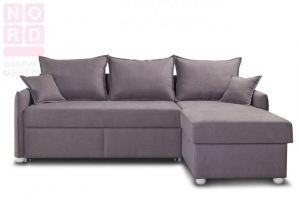 Диван угловой Венто серый - Мебельная фабрика «Норд»