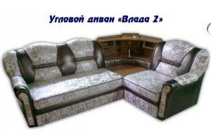 Диван угловой Влада 2 - Мебельная фабрика «Влада»