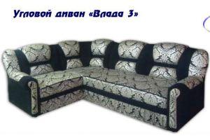 Диван угловой Влада 3 - Мебельная фабрика «Влада»