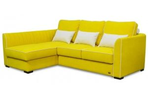 Диван угловой желтый Армада - Мебельная фабрика «Матрица»