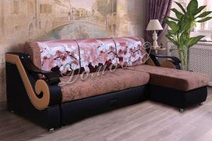 Диван угол Лидер 23 - Мебельная фабрика «Evian мебель»