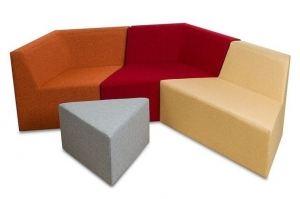 Диван з-х местный Оригами - Мебельная фабрика «Диван Хаус»