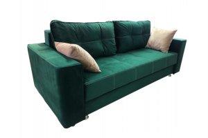 Диван зеленый дизайн Лофт - Мебельная фабрика «Амарас»