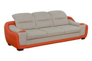 Длинный прямой диван Милан - Мебельная фабрика «Алмаз»