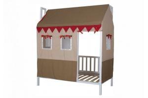 Кровать в детскую Домовенок-2 - Мебельная фабрика «Мебель Холдинг»