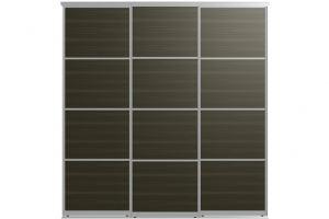 Двери для шкафов-купе АРНО-3 - Оптовый поставщик комплектующих «Пермэкспосервис»