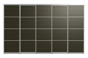 Двери для шкафов-купе АРНО-5 - Оптовый поставщик комплектующих «Пермэкспосервис»