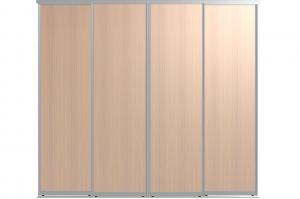 Двери для шкафов-купе БАЗИС-4П - Оптовый поставщик комплектующих «Пермэкспосервис»