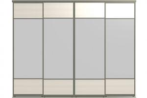 Двери для шкафов-купе ЛИРИ-4 - Оптовый поставщик комплектующих «Пермэкспосервис»