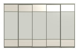 Двери для шкафов-купе ЛИРИ-5 - Оптовый поставщик комплектующих «Пермэкспосервис»