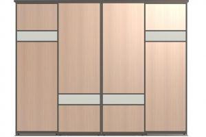 Двери для шкафов-купе ЛУЭН-4 - Оптовый поставщик комплектующих «Пермэкспосервис»