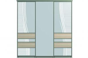 Двери для шкафов-купе РЕЙН-3 - Оптовый поставщик комплектующих «Пермэкспосервис»