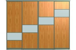 Двери для шкафов-купе СЕНТ-4 - Оптовый поставщик комплектующих «Пермэкспосервис»
