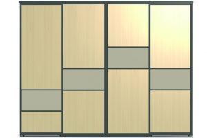 Двери для шкафов-купе ВАЛИРА-4 - Оптовый поставщик комплектующих «Пермэкспосервис»