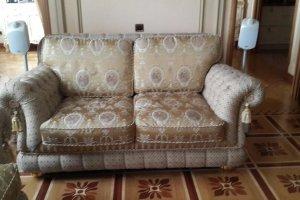 Двухместный классический диван - Мебельная фабрика «Элит-диван», г. Москва