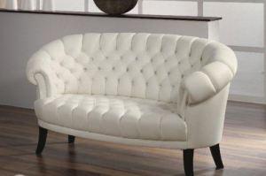 Двухместный кожаный диван Fledermaus - Импортёр мебели «Рес-Импорт»