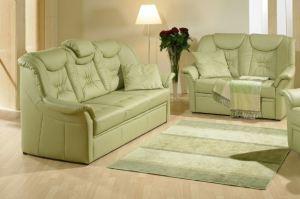 Двухместный кожаный диван Vanessa - Импортёр мебели «Рес-Импорт»