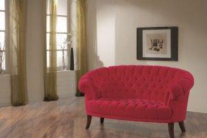 Двухместный тканевый диван Fledermaus - Импортёр мебели «Рес-Импорт»