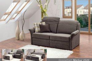 Двухместный тканевый диван Merkur - Импортёр мебели «Рес-Импорт»