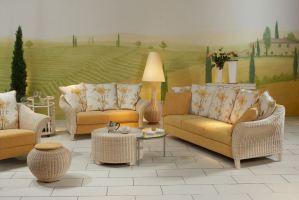 Двухместный тканевый диван Palma - Импортёр мебели «Рес-Импорт»