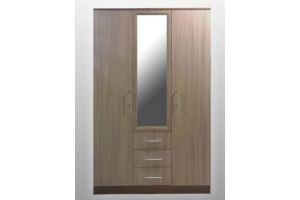 Двухсекционный шкаф с зеркалом СП-43 - Мебельная фабрика «SPSМебель»